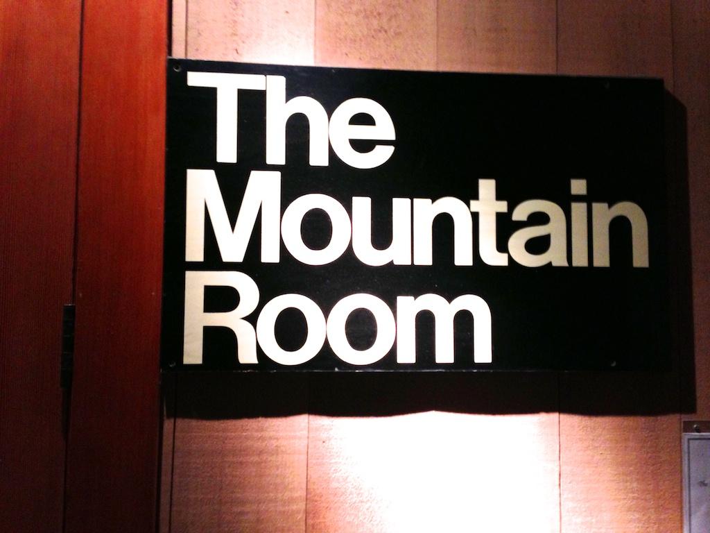 The Mountain Room at Yosemite Lodge at the Falls