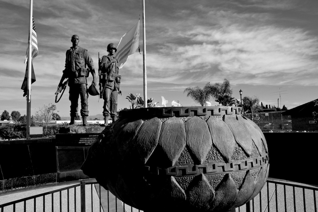 Sid Goldstein Freedom Park: Vietnam Memorial