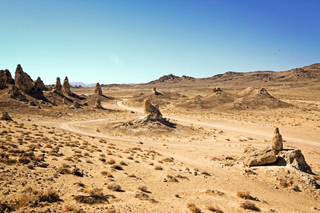 Trona Pinnacles: A National Natural Landmark
