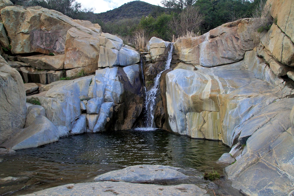 Tenaja Falls: 150 Foot Tiered Waterfall in Cleveland National Forest