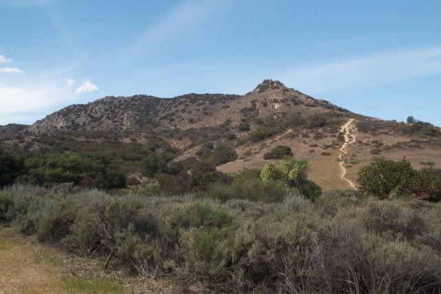 Castle Peak from below