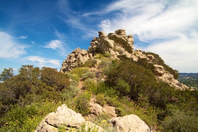 Castle Peak up close