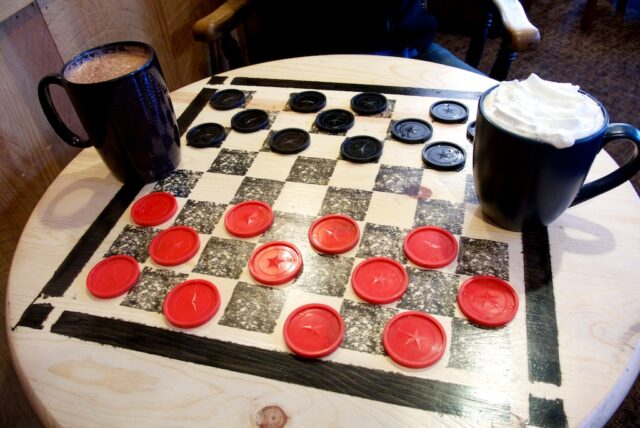 Coffee and Checkers