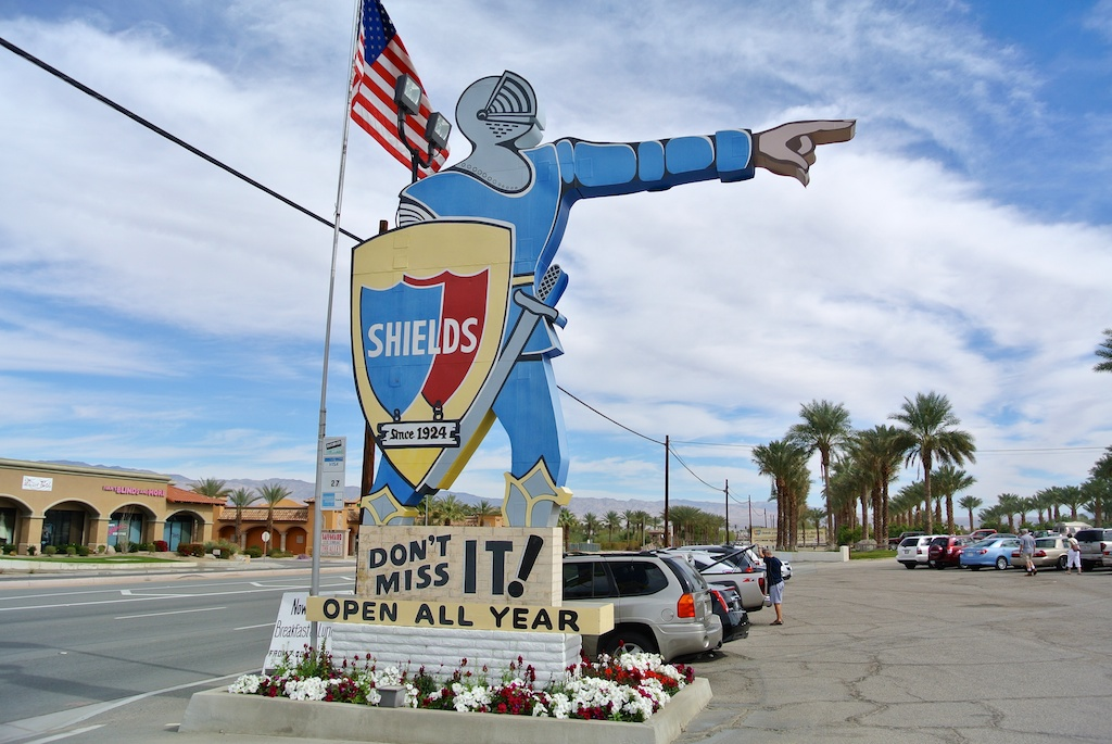 Shields Date Gardens in Indio