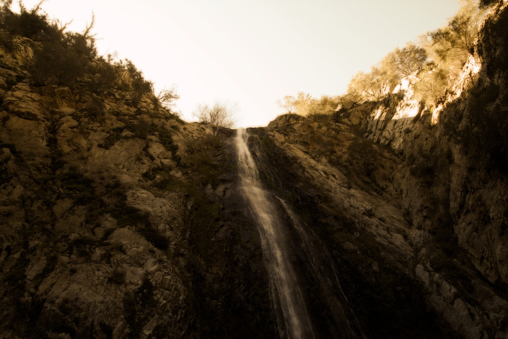 Bonita Falls in Lytle Creek: 100 Foot Waterfall Near Rancho Cucamonga