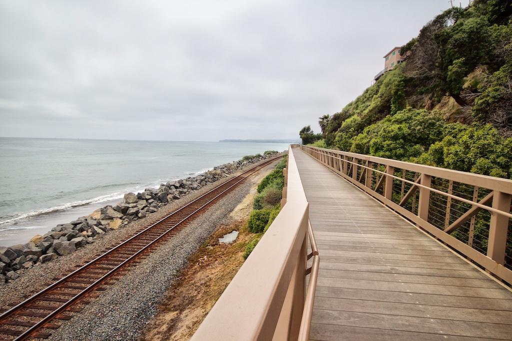 San Clemente Beach Trail Walk Or Bike Along The Beach