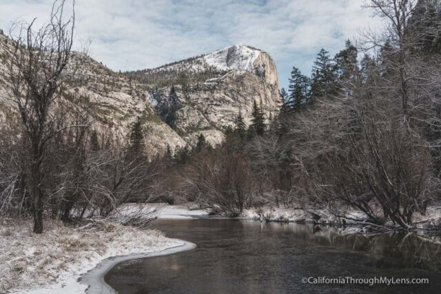 Mirror Lake in Yosemite: Winter and Summer - California Through My Lens