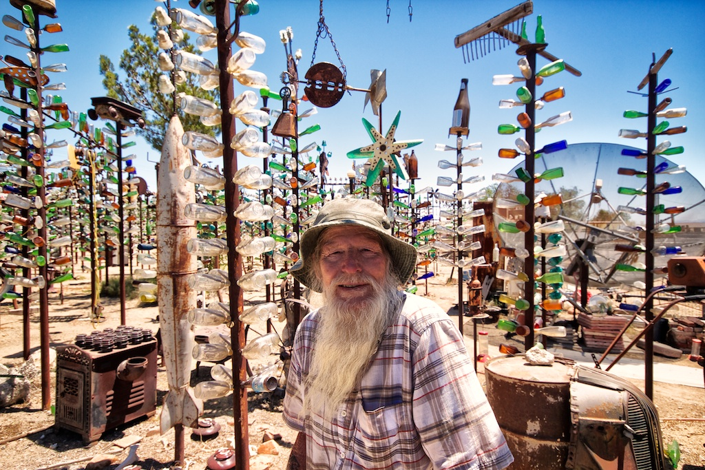 Elmer's Bottle Tree Ranch on Route 66 | California Through ...