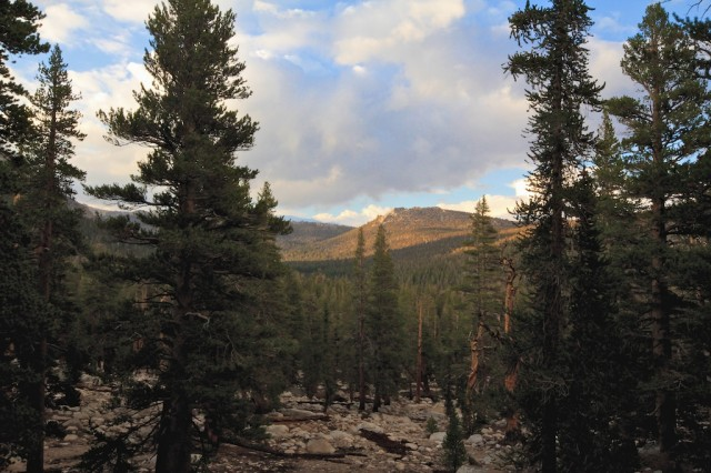 Cottonwood Lakes Elevation : Golden trout wilderness and cottonwood lakes california