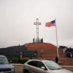 Mt Soledad: Cross and Memorial Above La Jolla