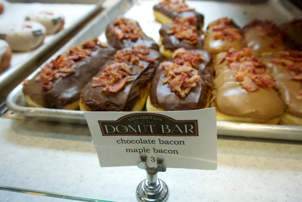 Donut Bacon Donut Bar 6 Chocolate Bacon
