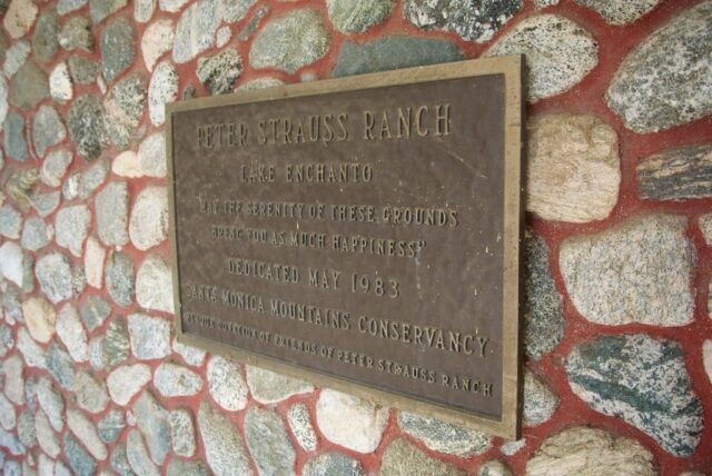 Peter Strauss Ranch 11