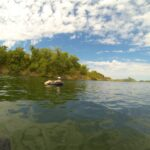 Floating the Sacramento River in Chico for Labor Day