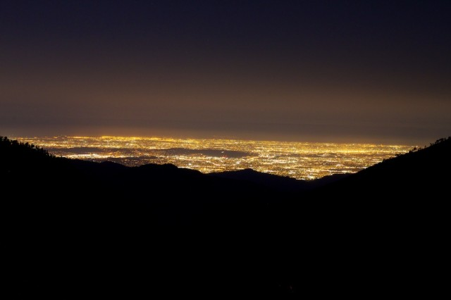Mt Baldy Night Hike 4 640x426
