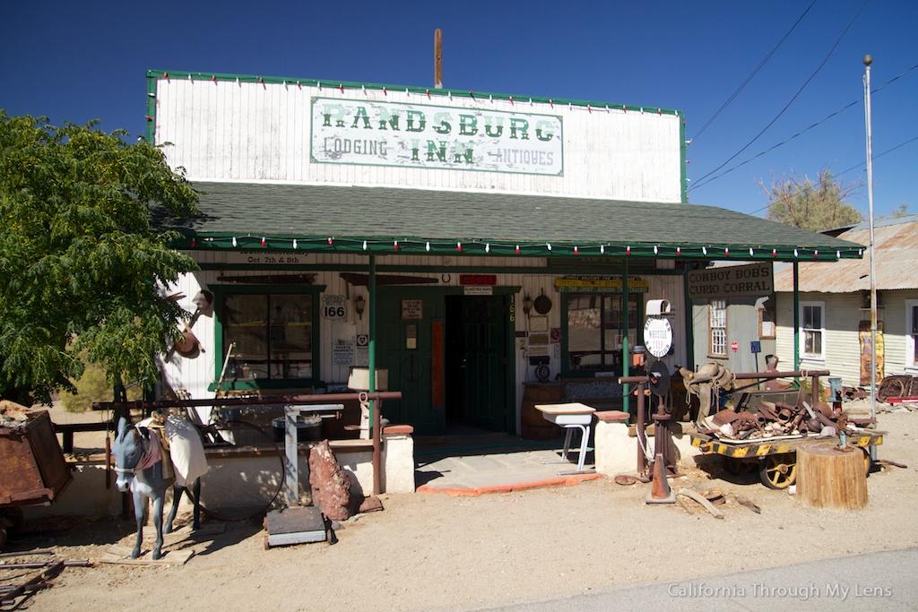 Randsburg General Store Cowboy Bob S Antiques California Through