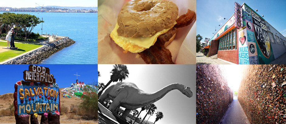 The Big List of Strange Fun and Unique Attractions in Southern – Tourist Attractions Map In Southern California