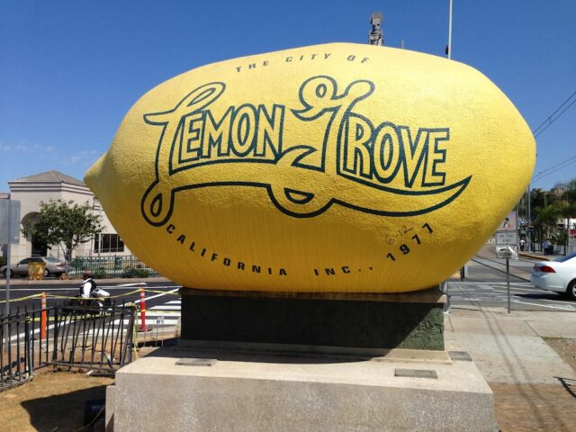 worlds largest lemon