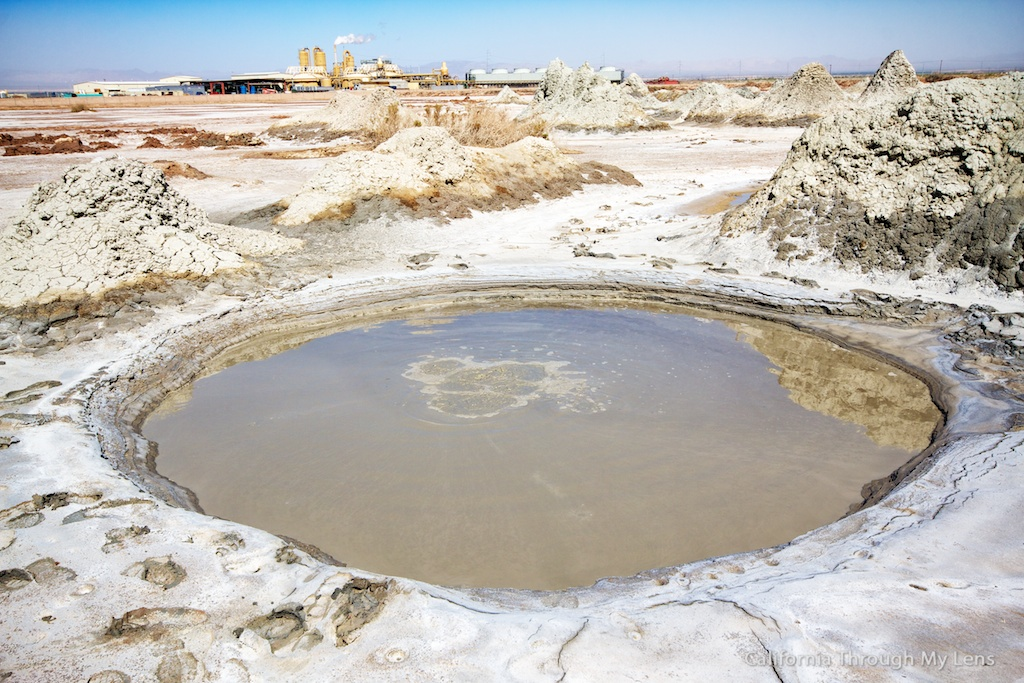Boiling Mud Pots Of The Salton Sea California Through My
