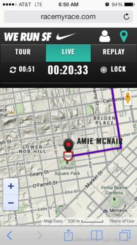 San Francisco Nike Womens Marathon 16