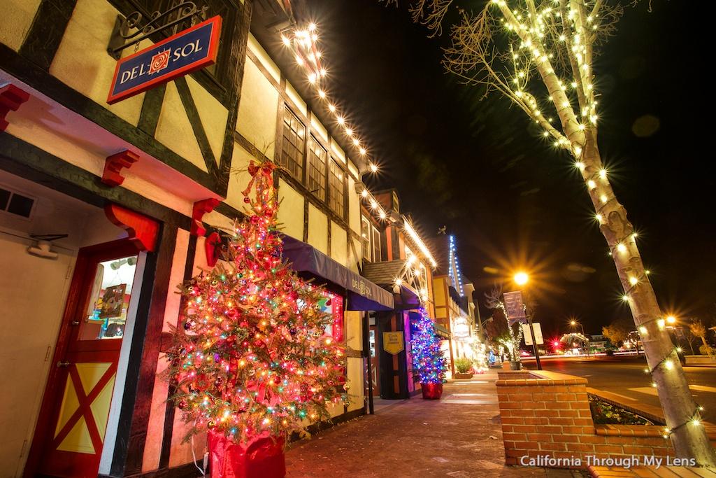 Solvang A Danish Village At Christmas California