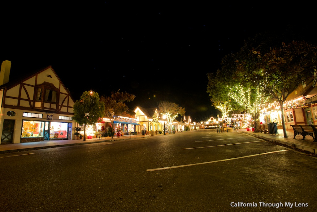 Solvang A Danish Village At Christmas California