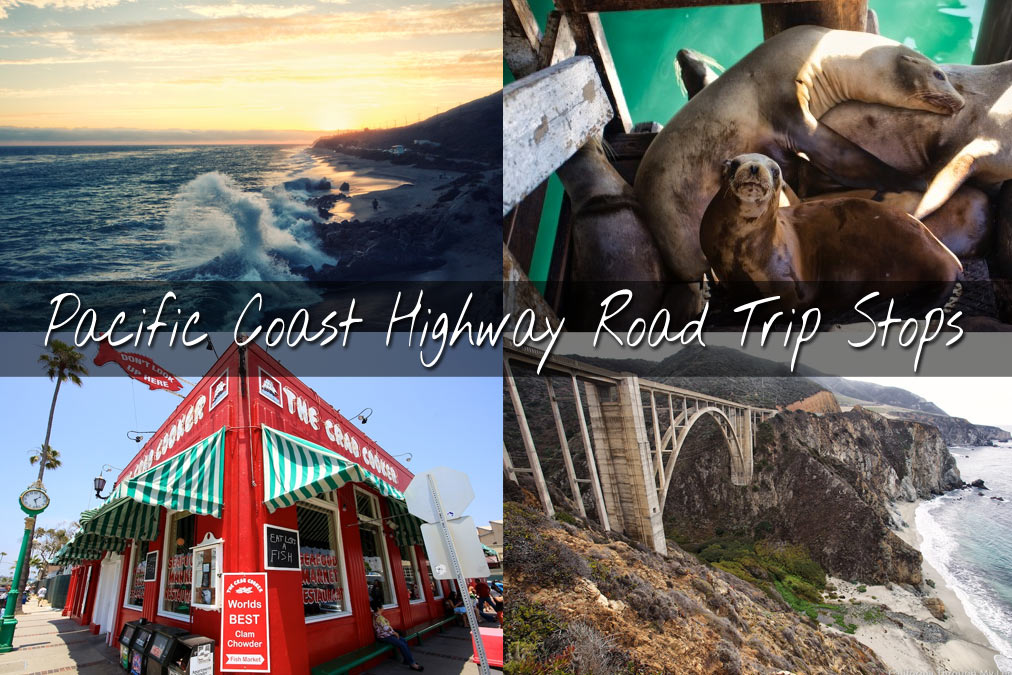 Pacific Coast Highway Where to Stop on Your Road Trip – Tourist Attractions Map In Southern California