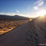 Kelso Dunes at Sunset: Hiking in Mojave National Preserve