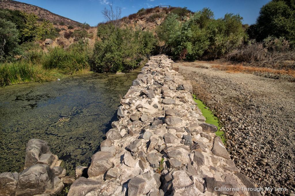 Old Mission Dam Mission Trails Regional Park California
