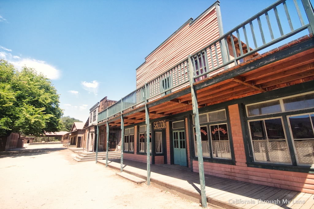Paramount Ranch: Old Movie Town & Westworld Filming