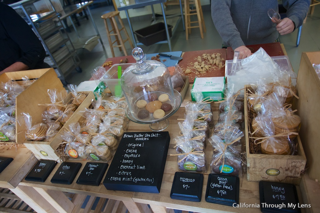 Brown Butter Cookie Company In Cayucos Best Cookies On