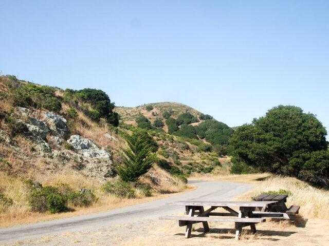 Hipcamp perimeter road