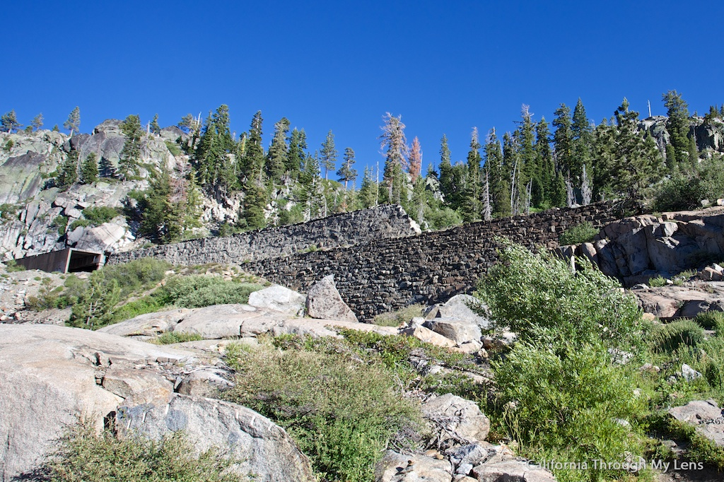 Donner Pass Summit Tunnel Hike Old Abandoned Railroad California