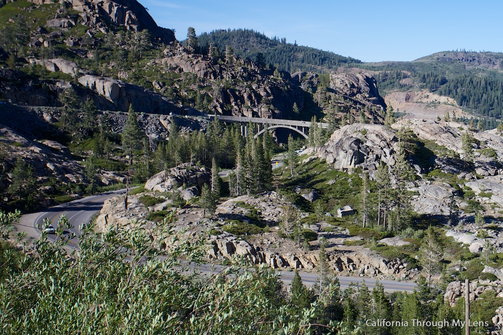 Donner Pass Summit Tunnel Hike Old Abandoned Railroad
