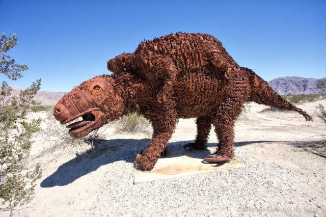 Borrego Springs Sculptures 14