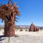 Galleta Meadows Metal Sculptures in Borrego Springs