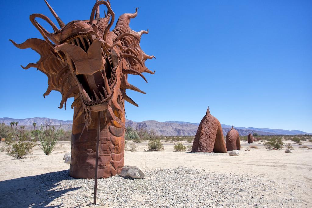 Galleta Meadows Metal Sculptures In Borrego Springs