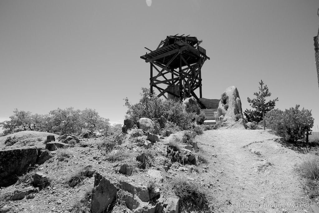 Hot Springs Mountain Fire Lookout Highest Point In San