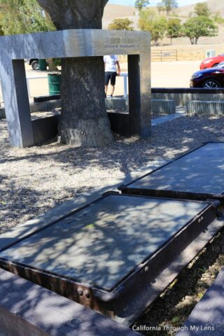 James Dean Memorial & Crash Site on Highway 46 - California