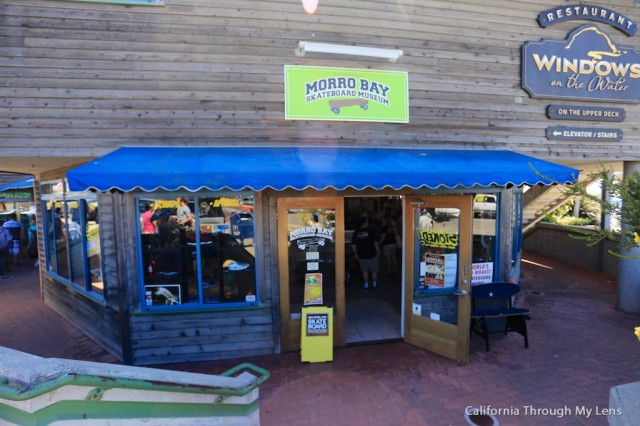morro bay skateboard museum home of the second largest skateboard