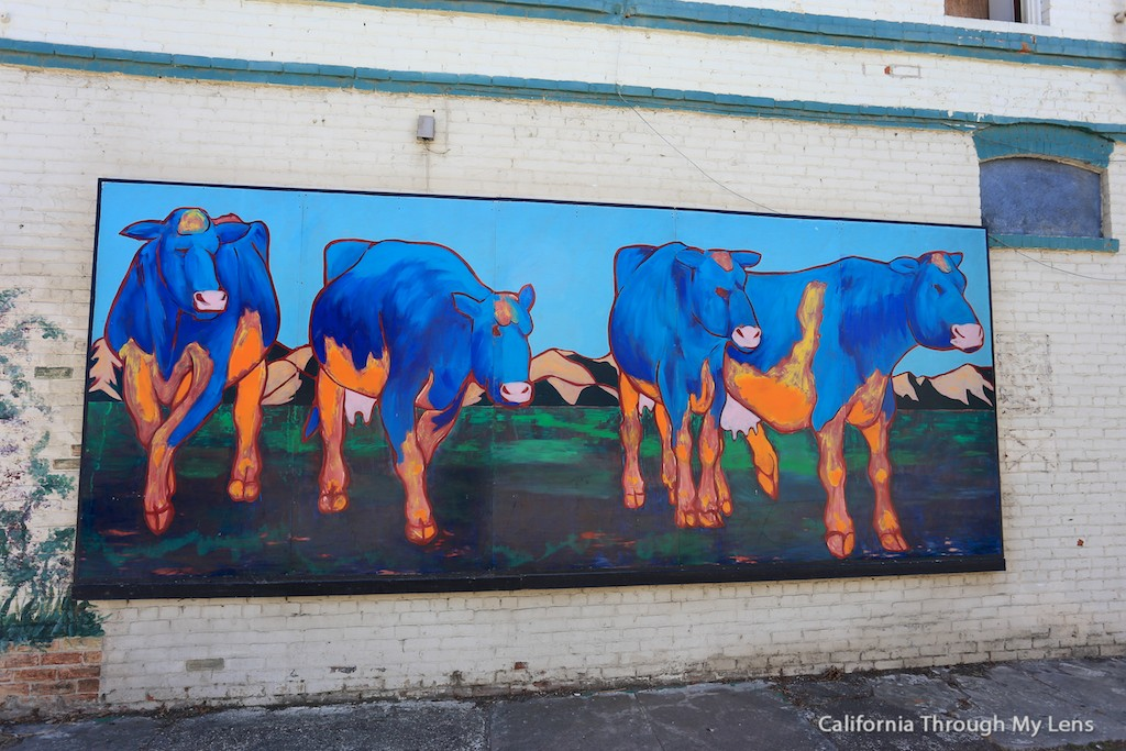 Historic murals in downtown lompoc california through my for California mural