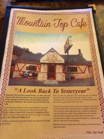 Mountain Top Cafe 10