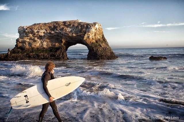 Natural Bridges State Beach 14