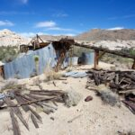 Wall Street Mill: Mine & Abandoned Cars in Joshua Tree National Park