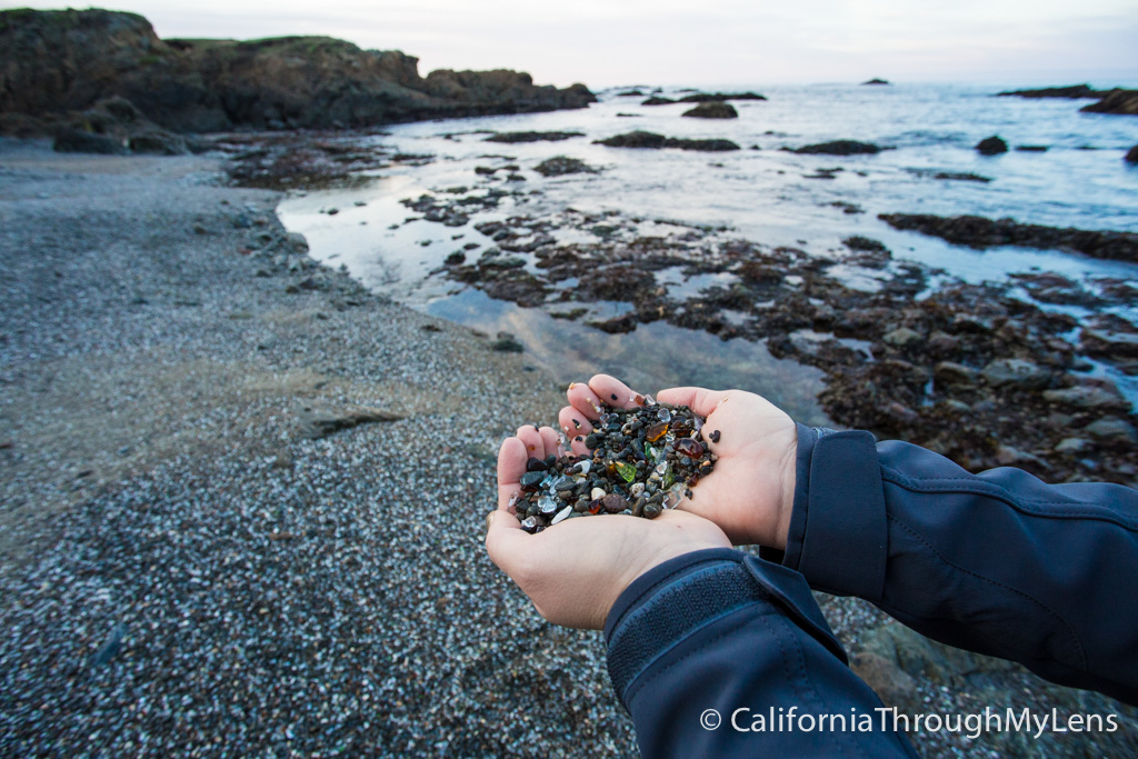 Glass Beach In Fort Bragg Where The Ocean Took Trash And