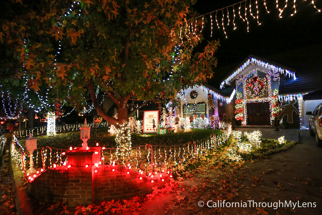 Thoroughbred St Christmas Lights In Rancho Cucamonga
