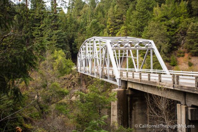 Old bridge on PCH-1
