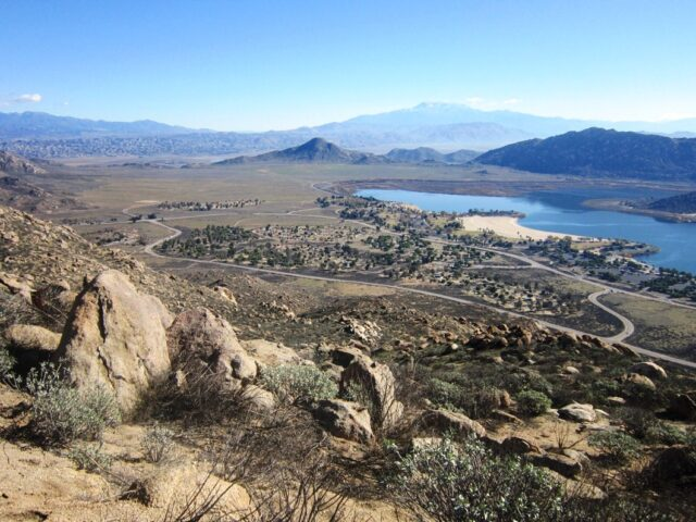 Hiking Near Lake Perris to Terri Peak - California Through