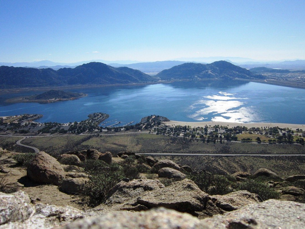 Hiking Near Lake Perris To Terri Peak California Through