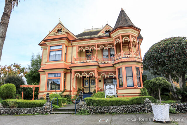 The Most Por Of All Houses In Town Is Gingerbread Mansion Though Celebrated From 1895 An Extravagant Orange Color And