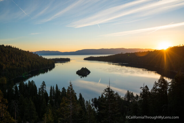 Emerald Bay State Park Kayaking Hiking A Castle California